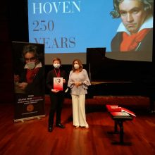 Daniel Stang bei Grand prize Virtuoso Awards Ceremony im Beethoven-Haus in Bonn am 12.08.2021